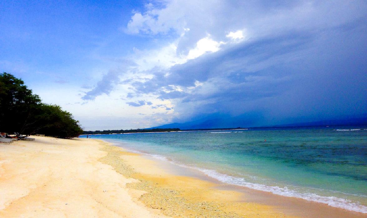 le belle spiagge che ci sono alle gili