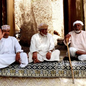 anziani a al hamra in oman