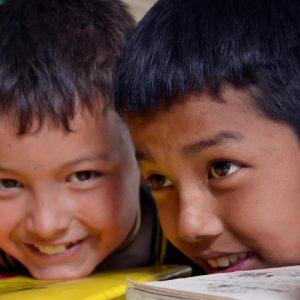 bambini al tibetan children village a mc leod
