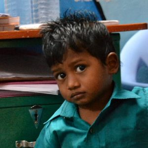 bimbo al progetto tdh a tiruvannamalai