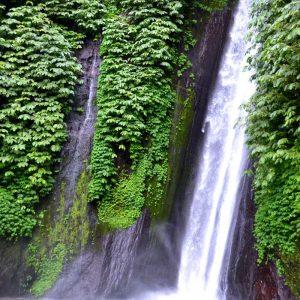 cascate a munduk a bali in indonesia