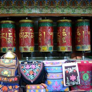esempi di artigianato tibetano a dharmasala
