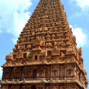 il brihadeeswara temple dedicato a shiva a tanjore