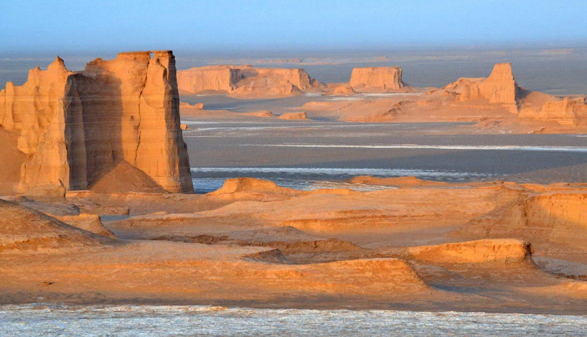 kalut nel deserto di Dasht-e-Lut in iran