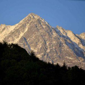 panorama da mc leod in india del nord