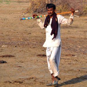 pastore nella regione del banni nel kutch
