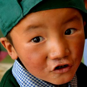 bimbo tibetano al tibetan children village in ladakh
