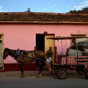 trasporto merci con calesse a trinidad