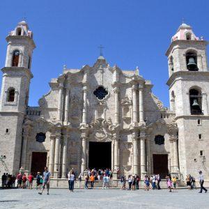 la cattedrale dell'havana a cuba
