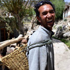 contadino a hemis suchpachan in ladakh