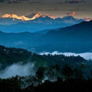 Darjeeling nell'India del nord est