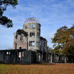 il memoriale della pace a hiroshima in giappone