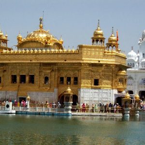 golden temple ad amritsar in punjab in india