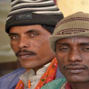 lavoratori migranti dal Bangladesh in Ladakh