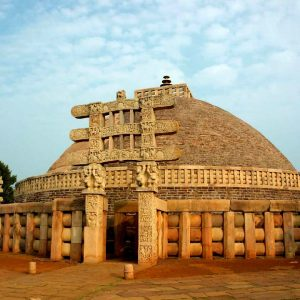 lo stupa di Sanchi in india