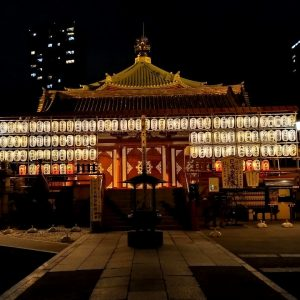 il tempio di kaneiji a tokyo in giappone