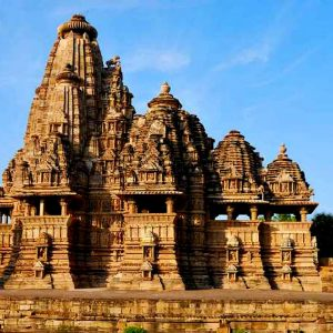 i templi di khajuraho in madhya pradesh in india