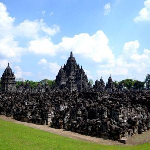 i templi induisti di prambanan a jogjakarta