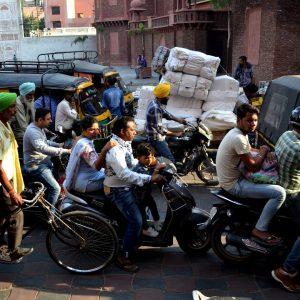 traffico ad amritsar in punjab