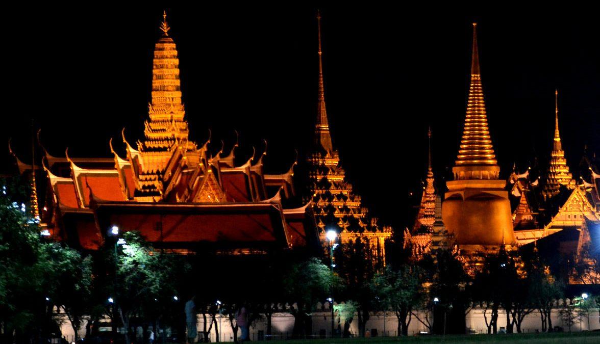 wat phra keo e royal palace a bangkok in thailandia