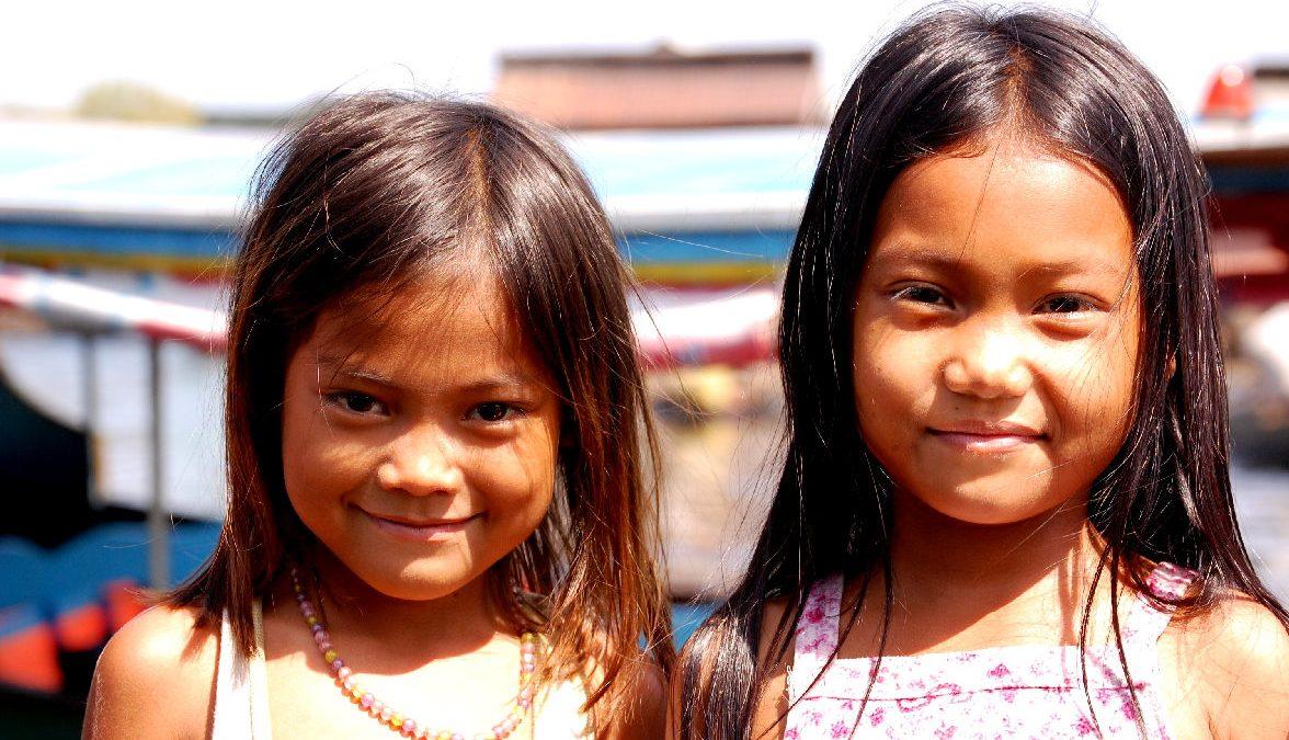 bambine cambogiane