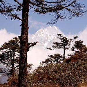 l'everest visto da khumjung