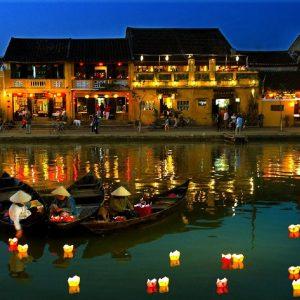 il centro storico di hoi an nel vietnam centrale
