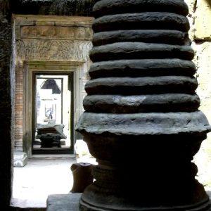 il tempio preah khan ad angkor in cambogia