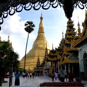 pagoda a Rangon