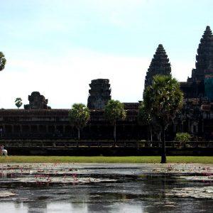 tempio di angkor wat a siem reap in cambogia