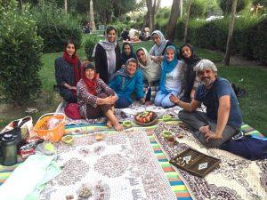 uno dei gruppi ram in iran