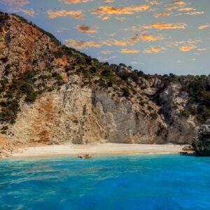 la meravigliosa spiaggia del golfo di Afales