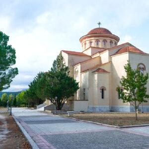 Il Monastero di Agios Gerassimos patrono dell'isola