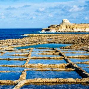 le saline di Xwejni a Gozo